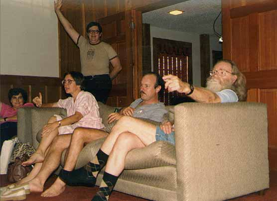 Gay Haldeman, Joe Haldeman, Rusty Hevelin, Sue Trautm, Tony Parker, Carol Porter