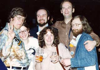 Phil Foglio, Rob Jackson, John Steward, Roy Kettle, Sue Williams, Coral Jackson, Kevin Williams, Angelique Trouvere