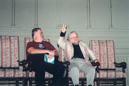 Mike Glyer, George R. R. Martin, Charles Mohapel
